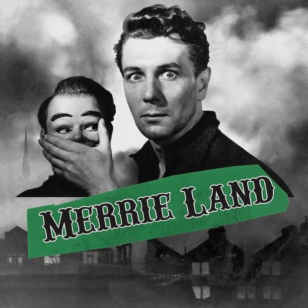 """Cover copertina nuovo album in uscita il 16 novembre """"Merrie Land"""" dei The Good The Bad And The Queen"""
