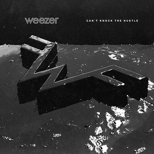"Cover copertina singolo ""Can't Knock The Hustle"" dei Weezer"