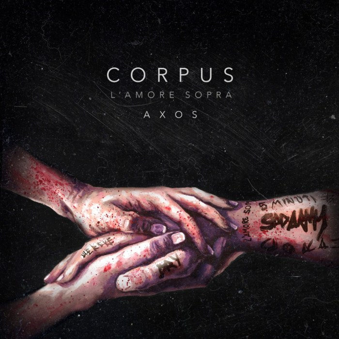 "Axos cover copertina ""Corpus"""
