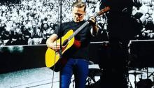 Bryan Adams si è esibito a Padova per la prima data italiana