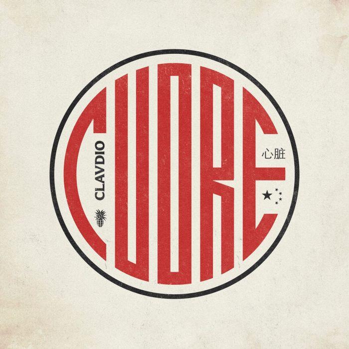 """cover copertina """"Cuore"""" CLAVDIO Bomba Dischi"""