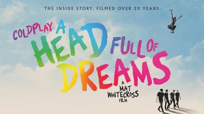 """""""A Head Full Of Dreams"""" dei Coldplay è disponibile su Amazon Prime Video"""