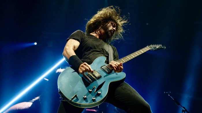 Foo Fighters in concerto in Europa nell'estate 2019