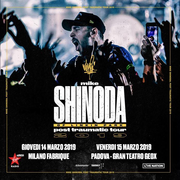 """Mike Shinoda torna in Italia a Milano e Padova per presentare l'album solista """"Post Traumatic"""""""