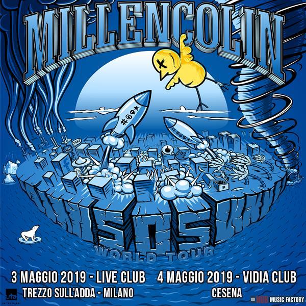 """Millencolin in cocnerto a Trezzo Sull'Adda e Cesena a maggio 2019 con il nuovo lavoro """"SOS"""""""
