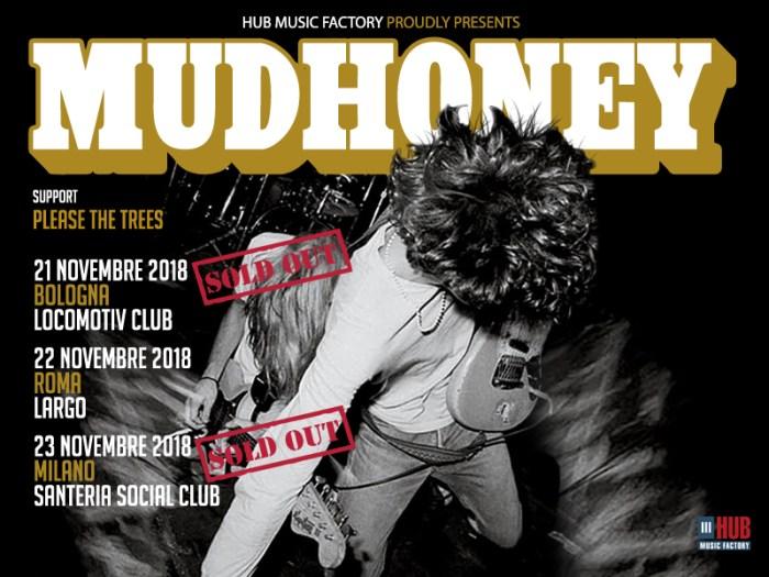 Sold out i concerti di Bologna e Milano dei Mudhoney