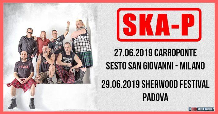 Ska-P in concerto a Milano e Padova a giugno 2019