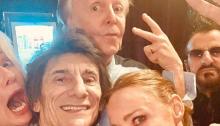 "Paul McCartney ha suonato ""Get Back"" a Londra con Ringo Starr e Ron Wood"