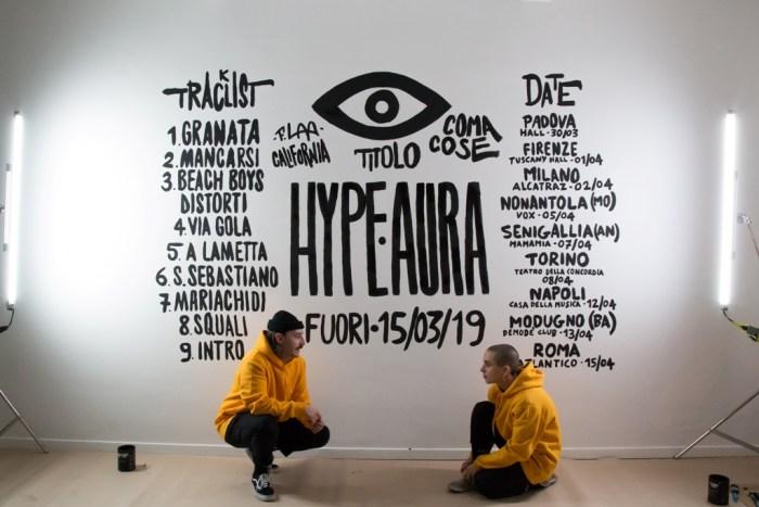 """""""Hype Aura"""" è il nuovo album dei Coma Cose in uscita il 15 marzo per Asian Fake"""