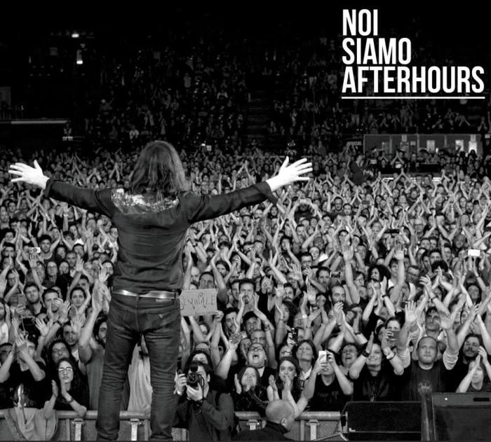 """Copertina disco live """"Noi Siamo Afterhours"""""""