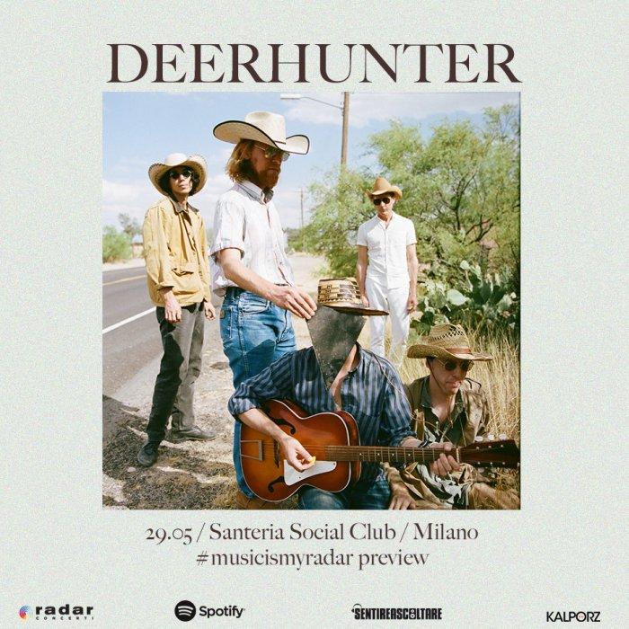 Deerhunter in concerto il 29 maggio a Milano