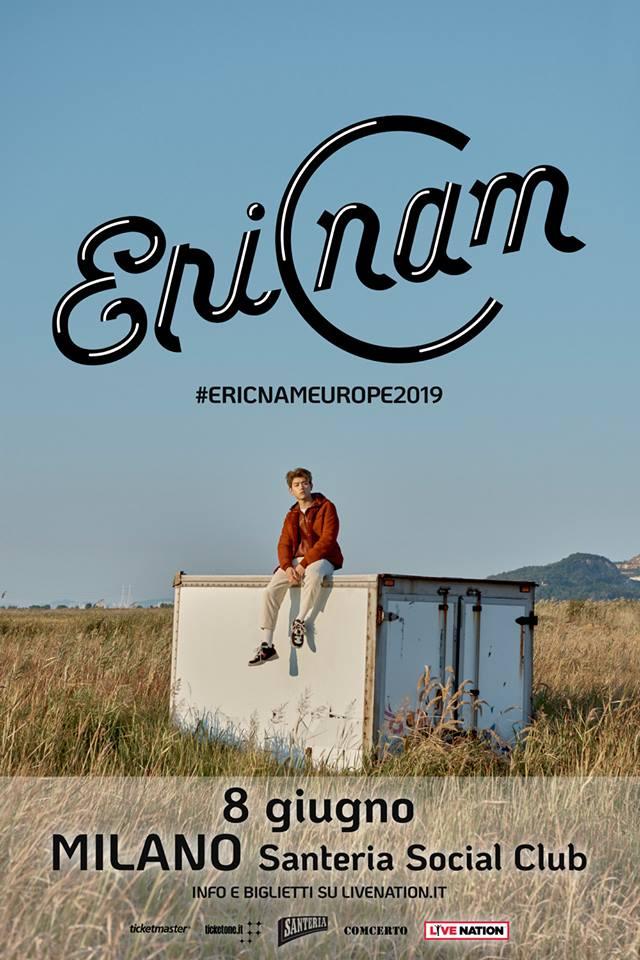 La stella del K-Pop Eric Nam arriva in concerto l'8 giugno a Milano