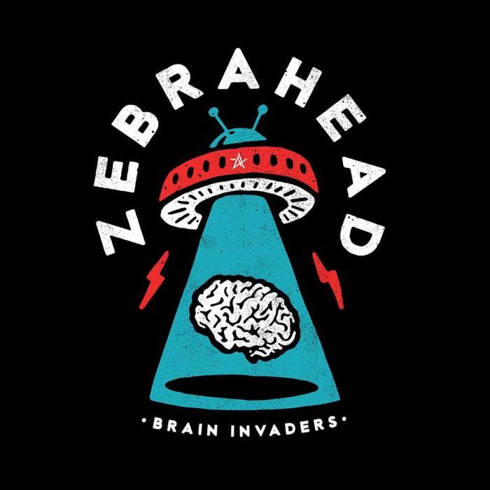 "copertina ""Brain Invaders"" Zebrahead"