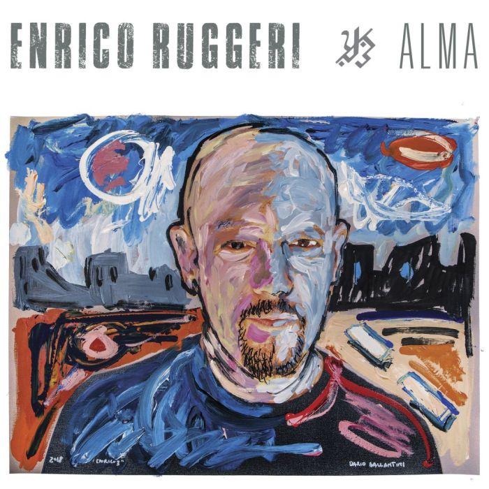 """copertina album Enrico Ruggeri """"Alma"""""""