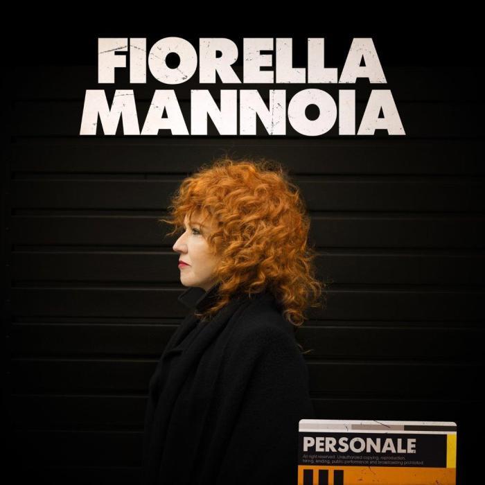 "copertina album ""Personale"" Fiorella Mannoia"