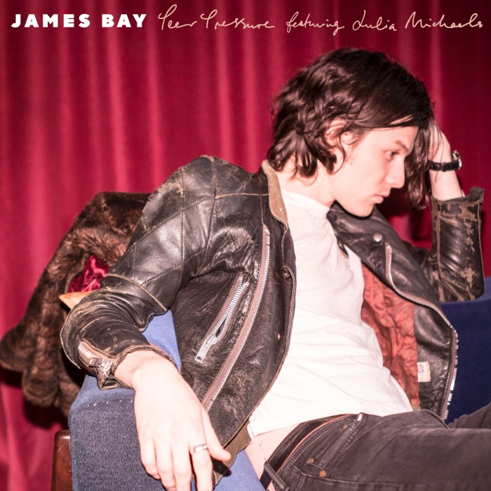 "copertina singolo ""Peer Pressure"" james Bay featuring Julia Michaels"