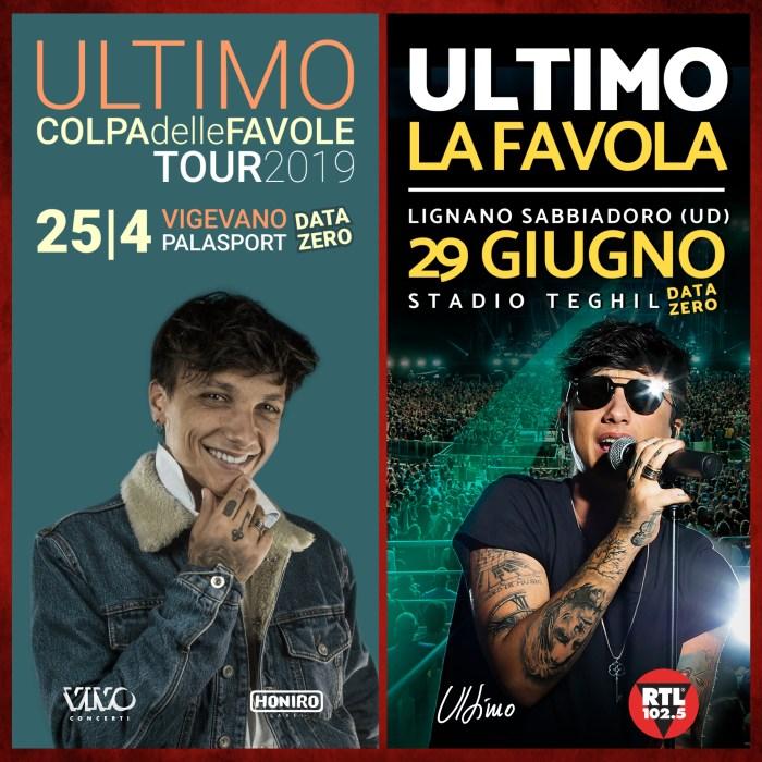 Ultimo annuncia due nuovi concerti a Vigevano e Lignano Sabbiadoro