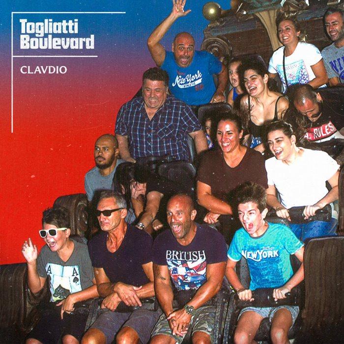 "copertina album esordio ""Togliatti Boulevard"" Clavdio"