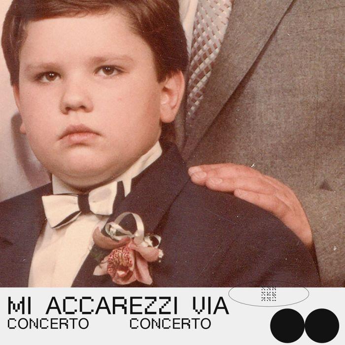 """copertina singolo """"Mi Accarezzi Via"""" Concerto"""