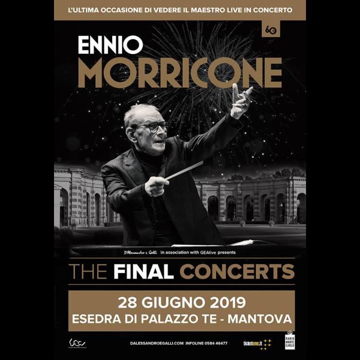 Ennio Morricone dal vivo il 28 giugno a Mantova