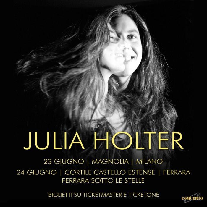 Julia Holter in concerto a Milano e Ferrara il 23 e 24 giugno 2019