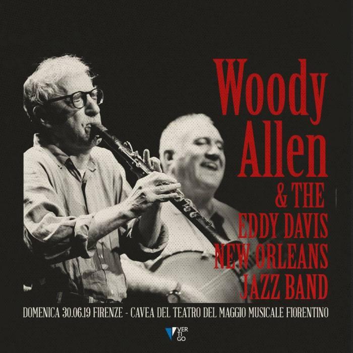 Woody Allen in concerto il 28 giugno a Milano e il 30 a Firenze