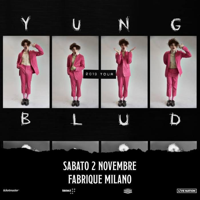 Yungblud in concerto il 2 novembre al Fabrique di Milano