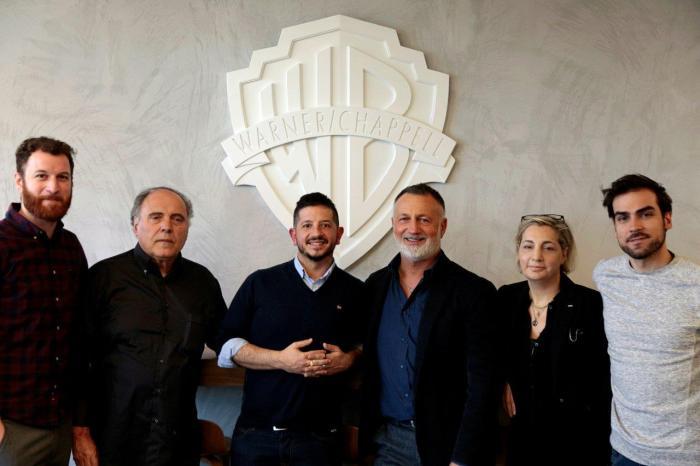 La Warner Chappell Music Italiana firma un accordo editoriale con Giuseppe Anastasi