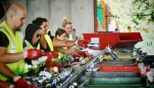Glastonbury, festival green e riciclaggio materiali
