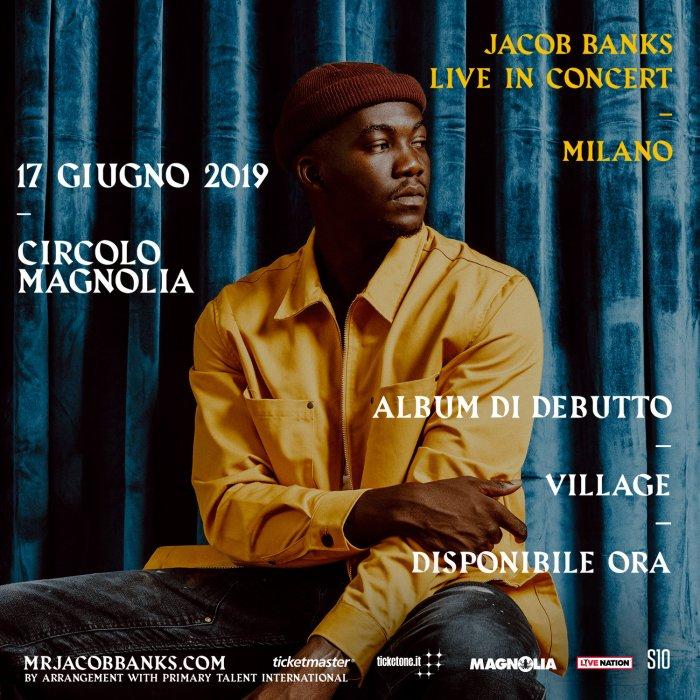 Jacob Banks in concerto per la prima volta in Italia il 17 giugno al Magnolia di Milano