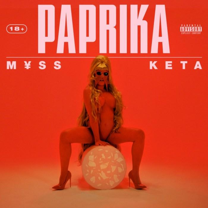 "copertina album ""Paprika"" Myss Keta"