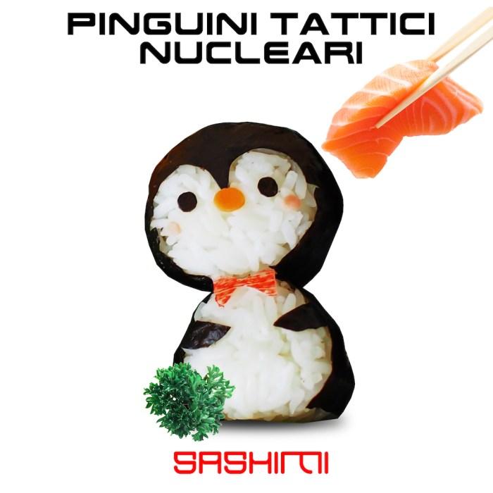 """Pinguini Tattici Nucleari nuovo singolo """"Sashimi"""" copertina"""