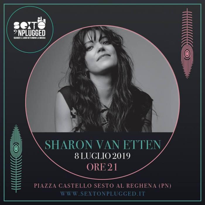 Sharon Van Etten 8 luglio Sexto 'Nplugged