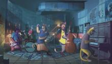 """""""La Luna e La Gatta"""" è il nuovo video diretto da Gaetano Morbioli di Takagi e Ketra insieme a Calcutta, Jovanotti e Tommaso Paradiso"""