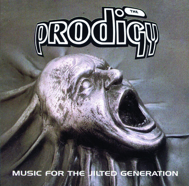 """Music For The Jilted Generation"" copertina album The Prodigy"