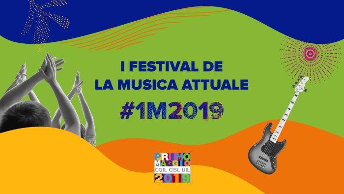 I festival de la musica attuale italiana presenti nel backstage del Concertone del Primo Maggio a Roma