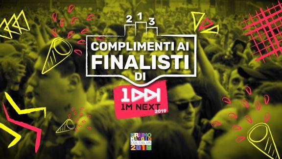 I nomi dei 15 finalisti del contest 1M Next per suonare sul palco del Concerto del Primo maggio a Roma