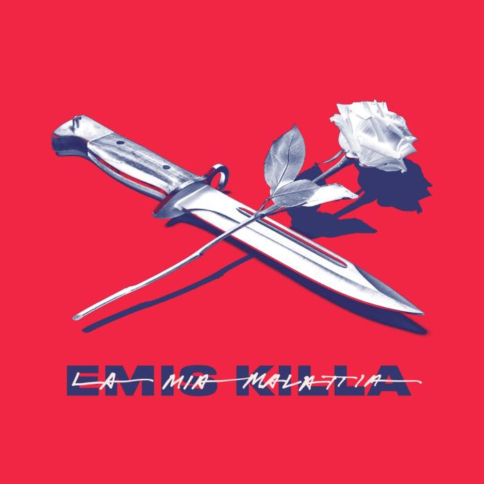 """Emis Killa copertina singolo """"La Mia Malattia"""""""