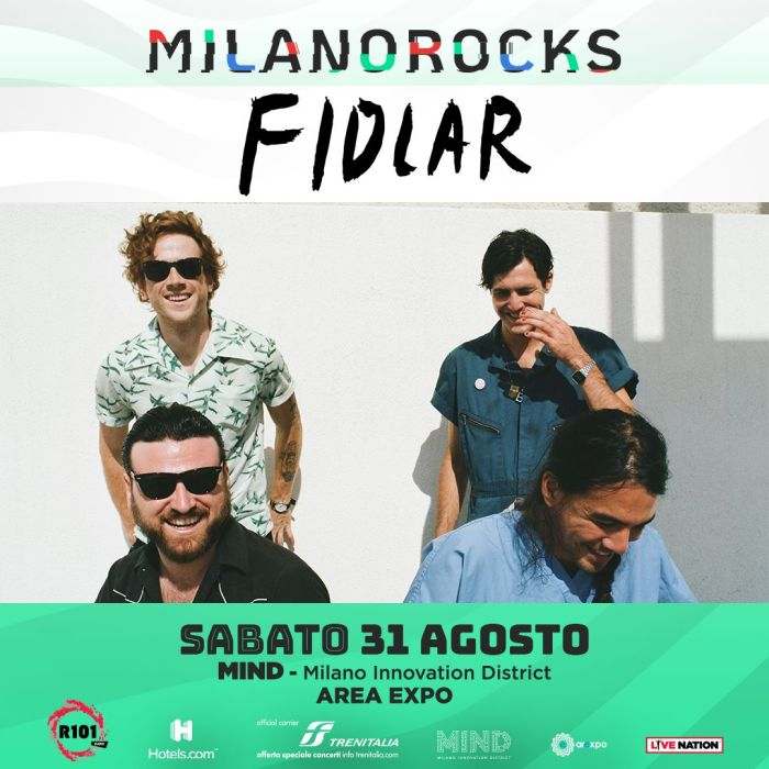 Fidlar dal vivo sabato 31 agosto al Milano Rocks
