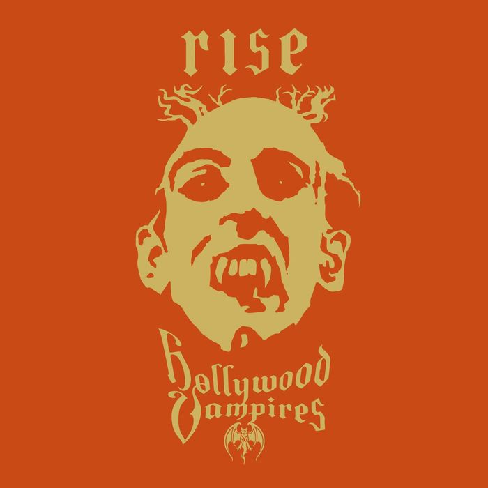 "Hollywood Vampires copertina album ""Rise"""