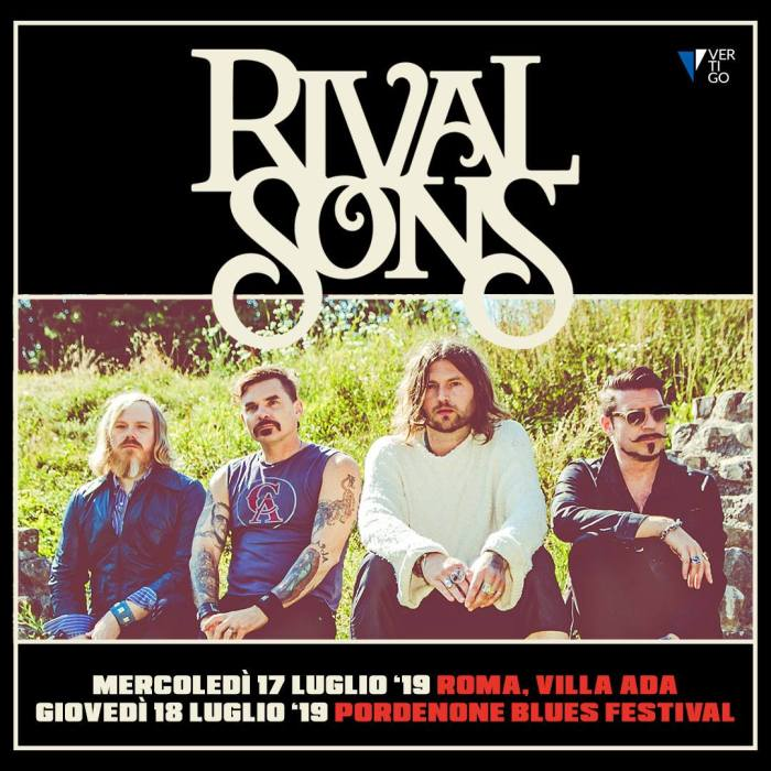 Rival Sons in concerto il 17 e 18 luglio a Roma e Pordenone