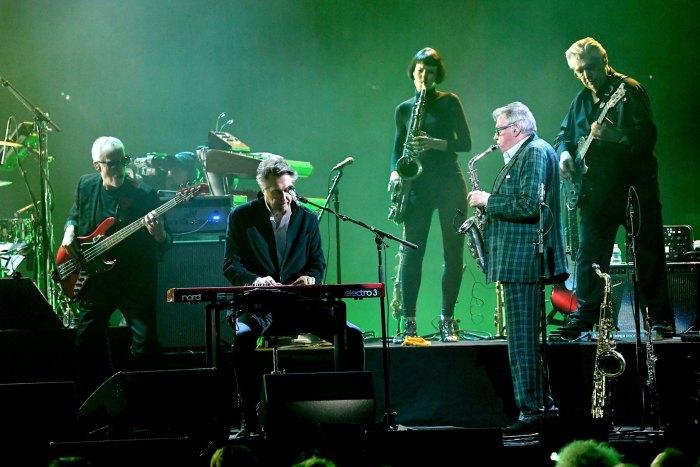 I Roxy Music si sono esibiti sul palco della Rock & Roll Hall Of Fame