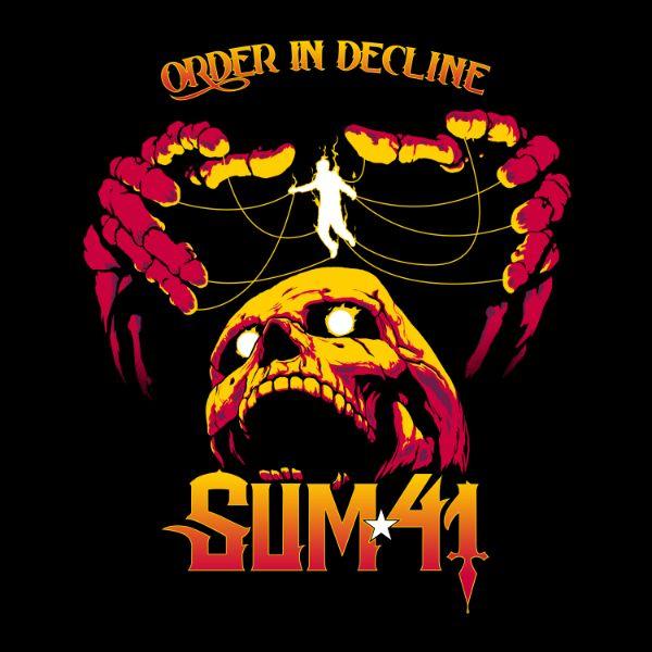 """copertina album """"Order In Decline"""" Sum 41"""