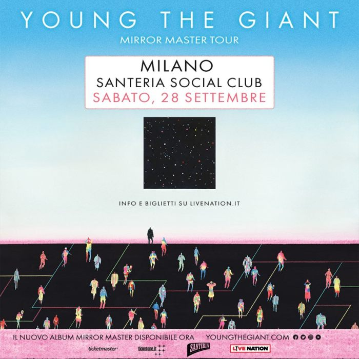 Young The Giant concerto 28 settembre Milano