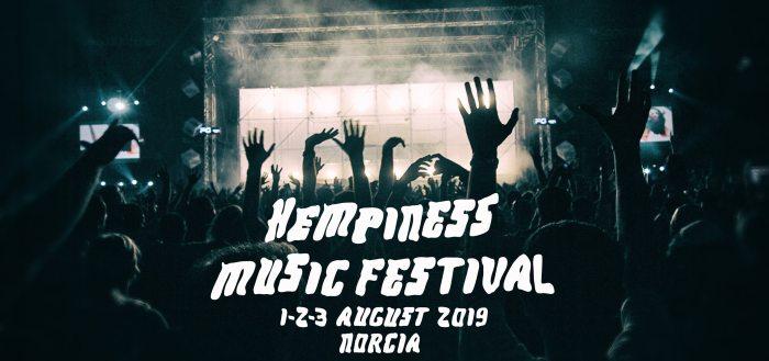 Hempiness Music Festival dal 1 al 3 agosto con Will And The People e Sticky Fingers