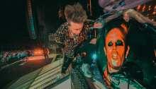 """I Papa Roach suonano una cover di """"Firestarter"""" dei The Prodigy dal vivo a Columbus dedicandola a Keith Flint"""