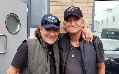 Joe Walsh e Brian Johnson, una collaborazione insieme