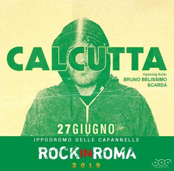 Scarda aprirà  il concerto di Calcutta giovedì 27 giugno al Rock In Roma