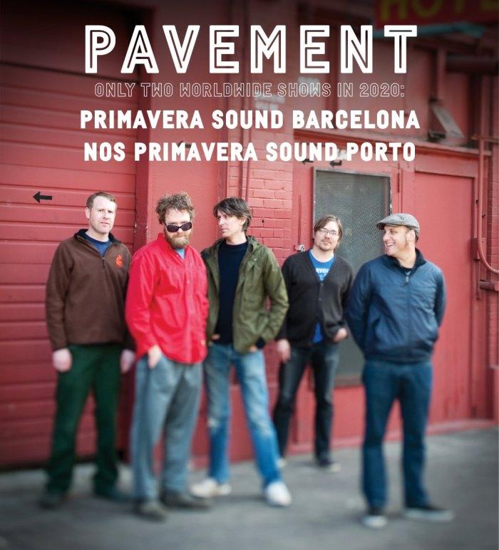 Pavement dal vivo al Primavera Sound Barcellona e NOS Porto nel 2020
