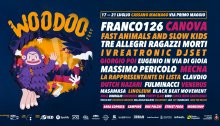Woodoo Fest 2019 dal 17 al 21 luglio a Cassano Magnago con Franco126, Canova, Giorgio Poi, FASK e molti altri